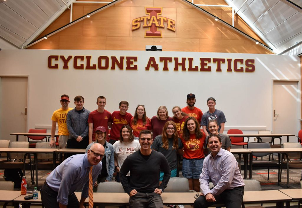 Cyclone Athletics Group Shot