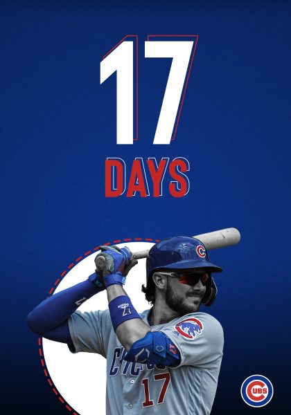 Cubs Addys Print campaign