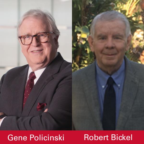Gene Policinski, Robert Bickel